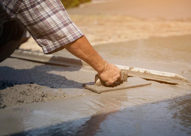 concrete pour puyallup